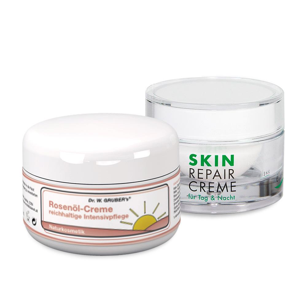 SkinRepair+Rosenöl-Creme