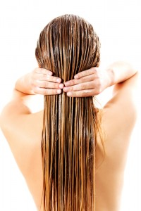 stock-photo-woman-applying-hair-conditioner-isolated-on-white-530388268