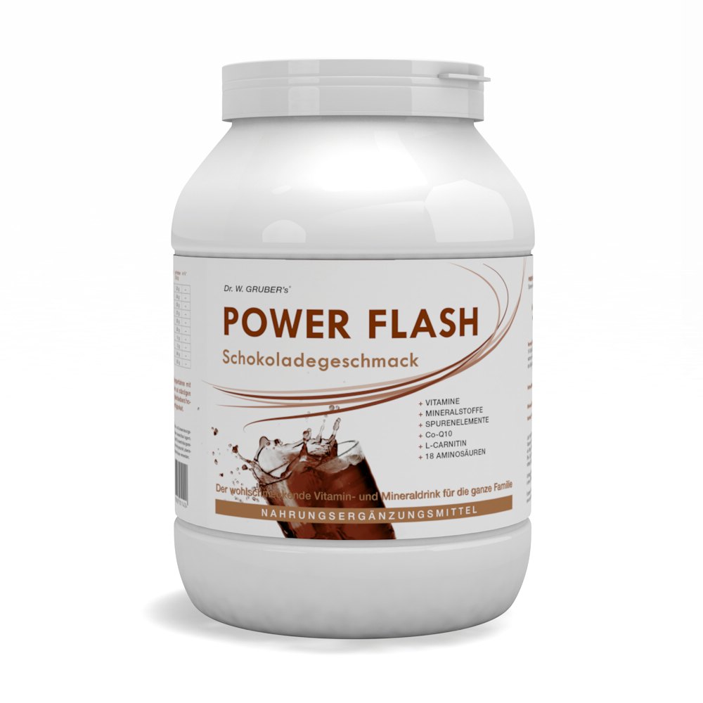 PowerFlash Schokolade